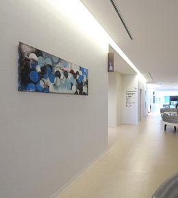 Ziekenhuis in Japan met schilderij Ronald Hunter