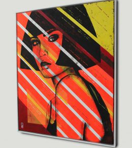lady_orange_original_pop_art_framed_rhunter2
