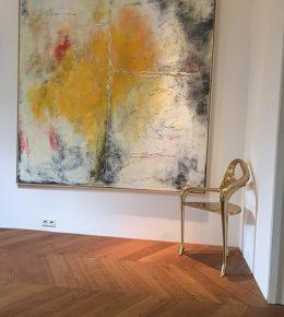 abstract_schilderij_proces_lagen_acrylverf_kuns2tenaar_aan_het_werk_ronald_hunter