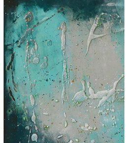 blauw_wit_groen_abstract_schilderij_vierkant_canvas_ronald_hunter_klaar_om_op_te_hangen4