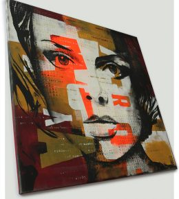 pop_art_nederland_kunstenaar_ronald_hunter_abstract_schilderij_portret_gezicht2