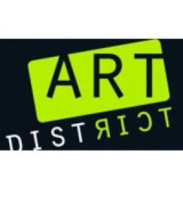 Logo Art District, Ronald Hunter verkoopt hier ook zijn werk
