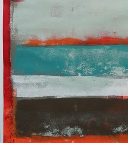 Red Stacked, Fine art on Paper door Ronald Hunter