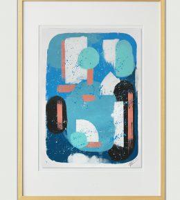 Moderne wanddecoratie door Ronald Hunter, moderne, kleurrijk en betaalbaar.