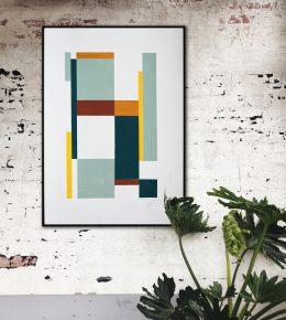 in_room_art_on_paper_cubistic_modern_rhunter_voorweb