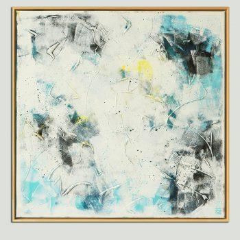 wit schilderij