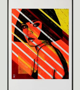 art_print_ronald_hunter_lady_orange